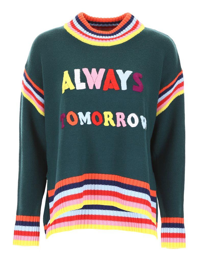 Mira Mikati Always Tomorrow Pullover - DARK GREEN (Green)