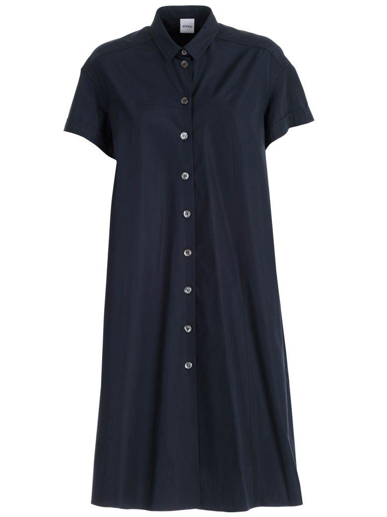 Aspesi Buttoned Dress - Militare