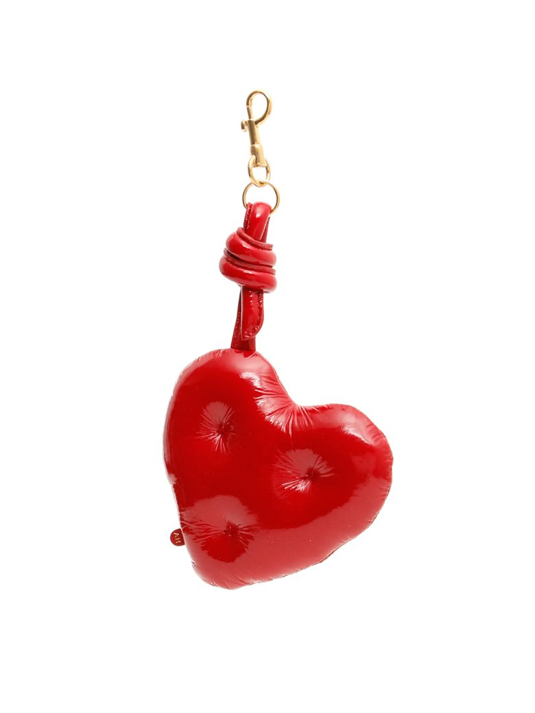 Anya Hindmarch Chubby Heart Charm - RED (Red)