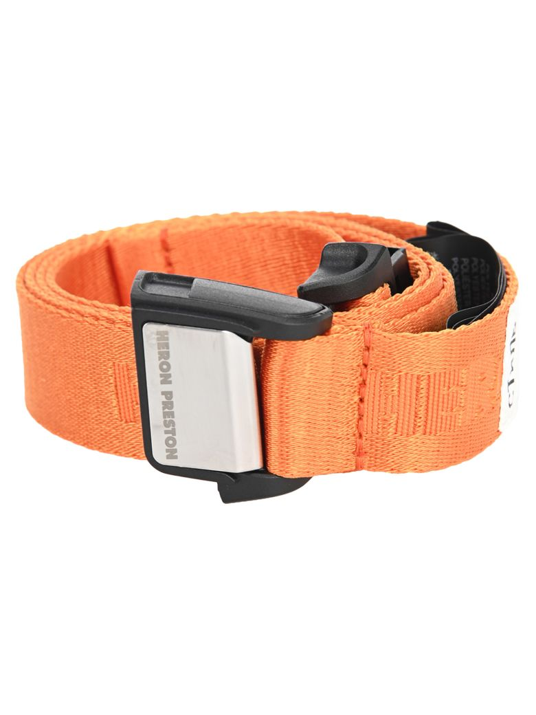 HERON PRESTON Tape Belt - ORANGE