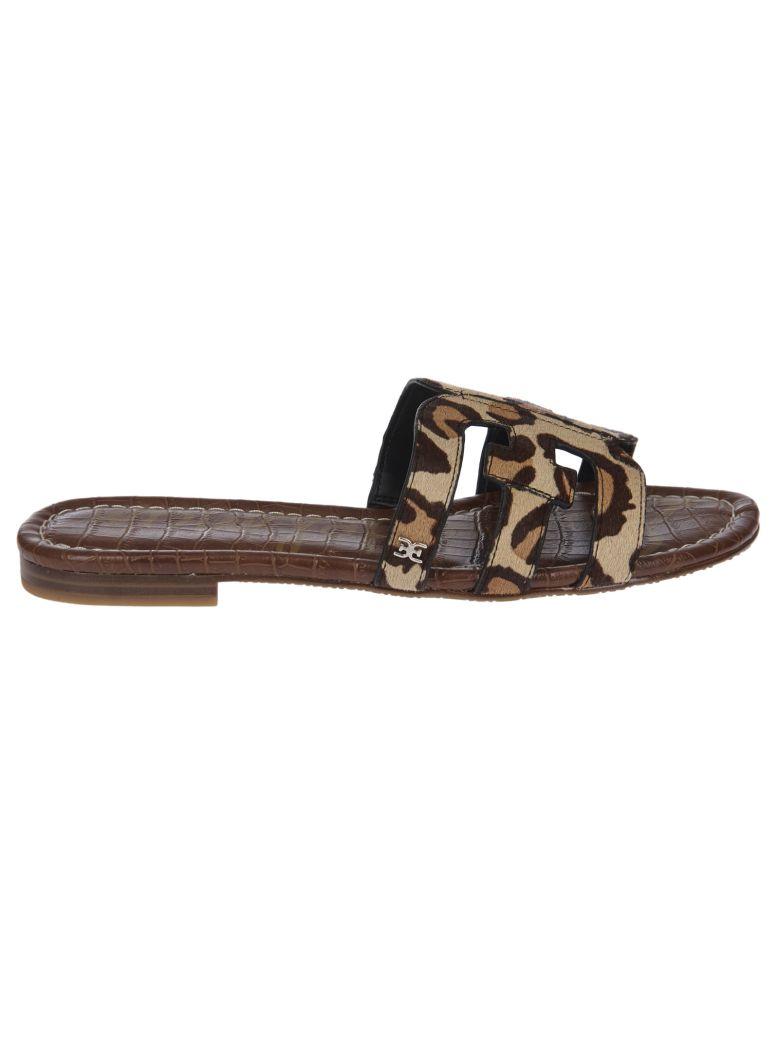 Sam Edelman Bay Double E Flat Sandals - Brown