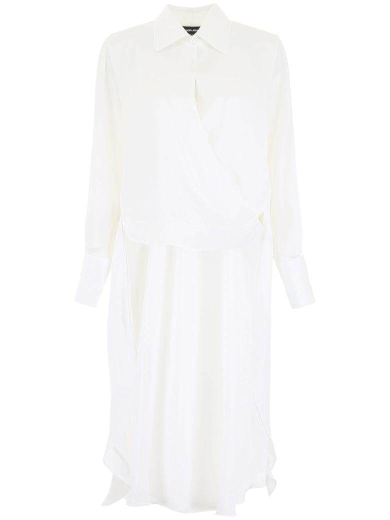 Giorgio Armani Silk Charmeuse Shirt - Basic