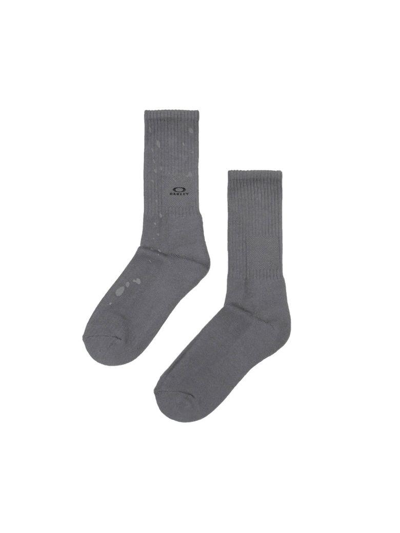 Oakley Socks Metal Detail - Brown