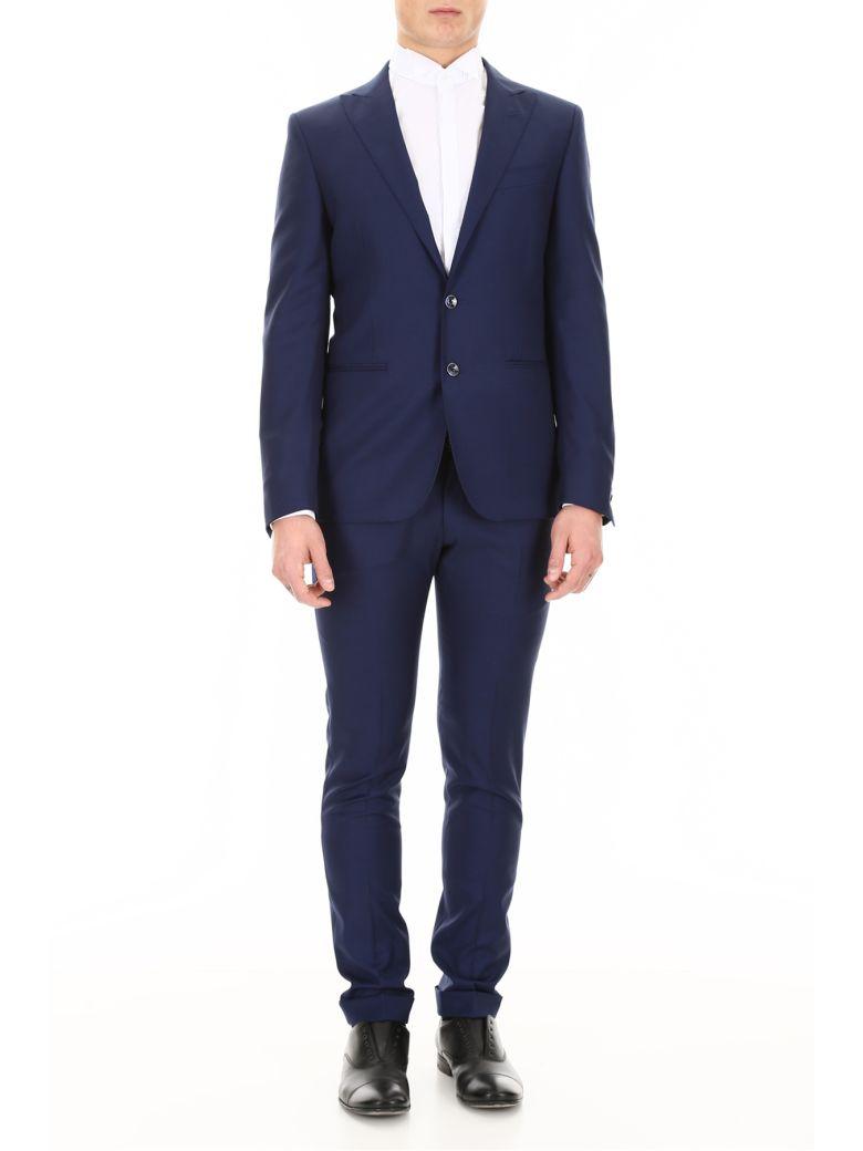 CC Collection Corneliani Formal Suit - BLU APERTO|Blu