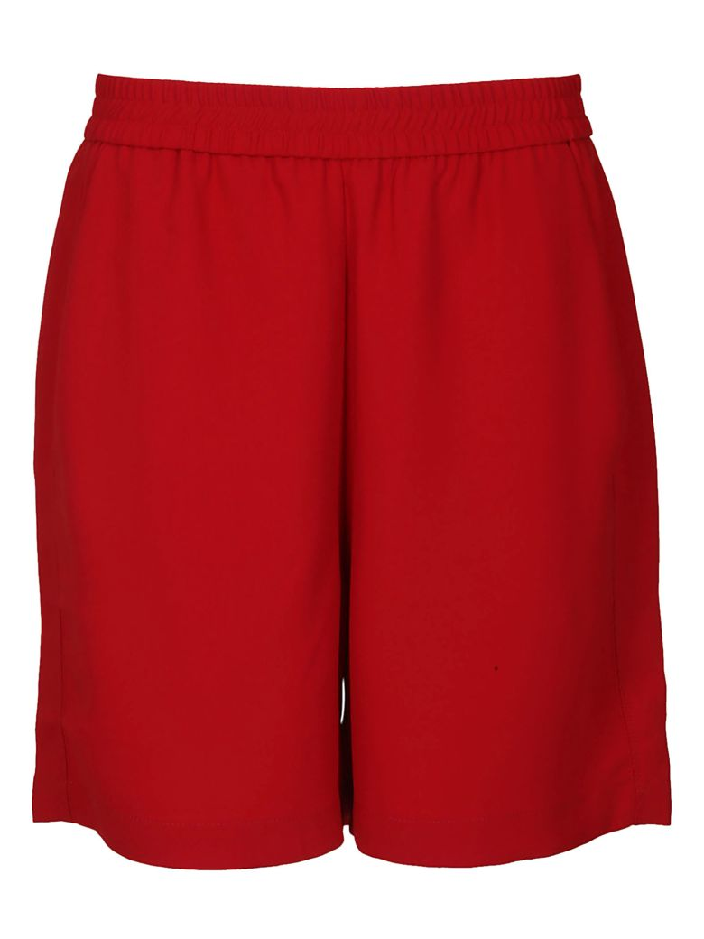 8PM Classic Track Shorts - Red