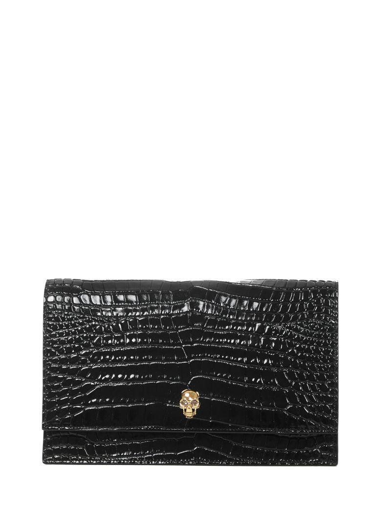 Alexander McQueen Skull Shoulder Bag - Black