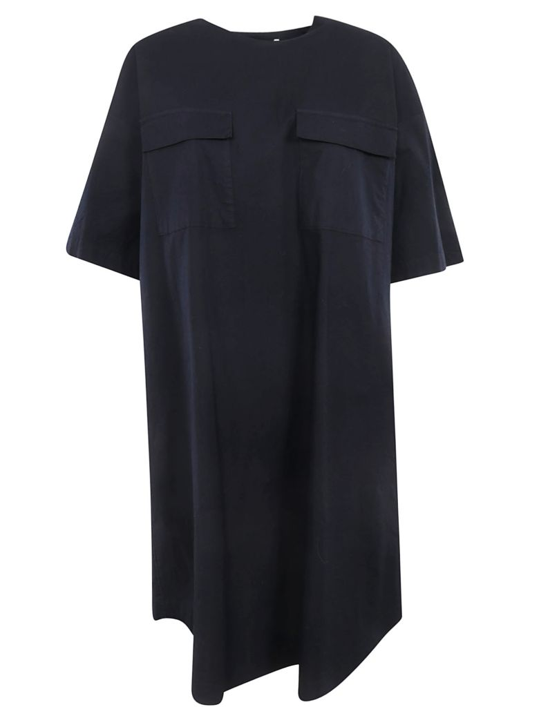 Zucca Oversized T-shirt Dress - Navy