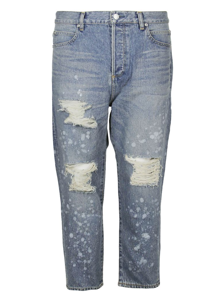 Balmain Destroyed Jeans - Denim