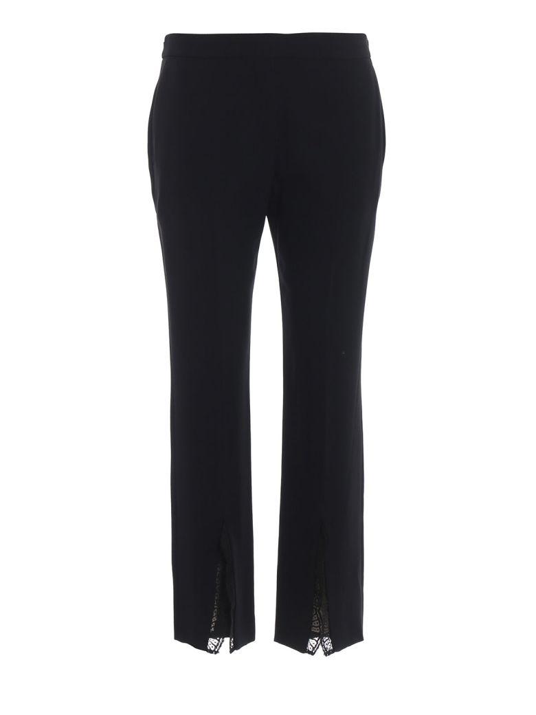 Alexander McQueen Front Split Trousers - Black
