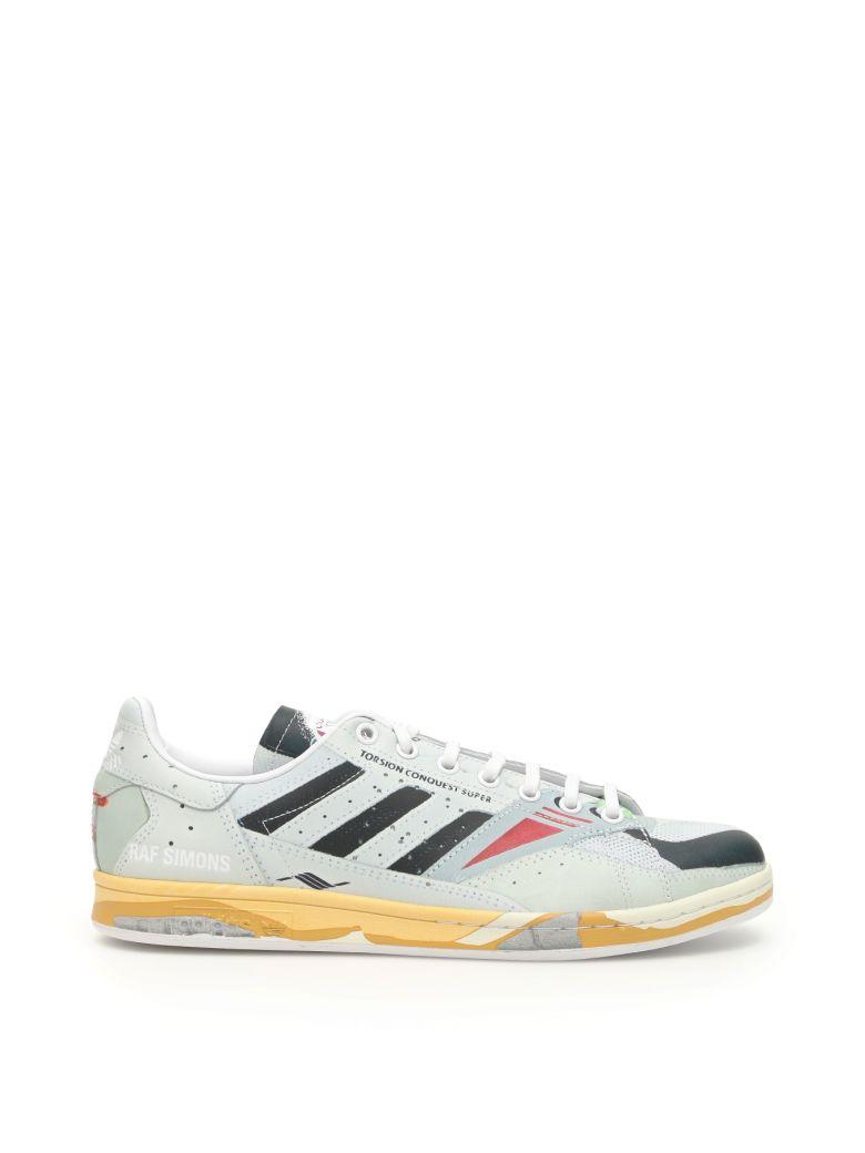 Adidas By Raf Simons Unisex Rs Torsion Stan Sneakers - FTWWHT CBLACK LGTGRE (Yellow)