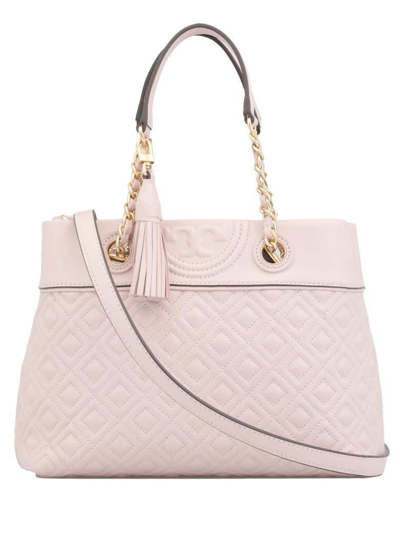 Tory Burch Fleming Small Tote - SHELL PINK