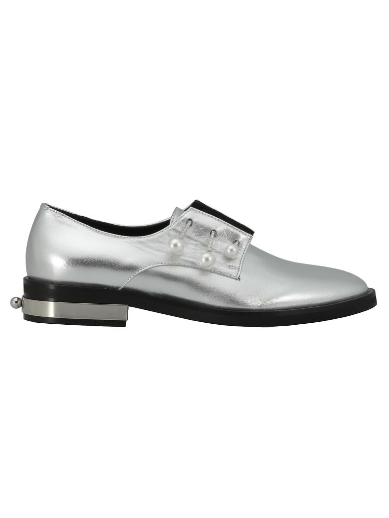 Coliac Fernanda Lace-up Shoe - Silver