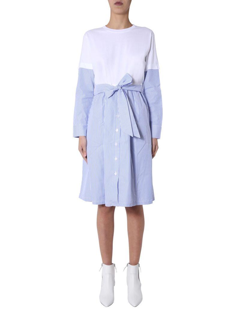 Etre Cecile Stripe Lucy Dress - BIANCO