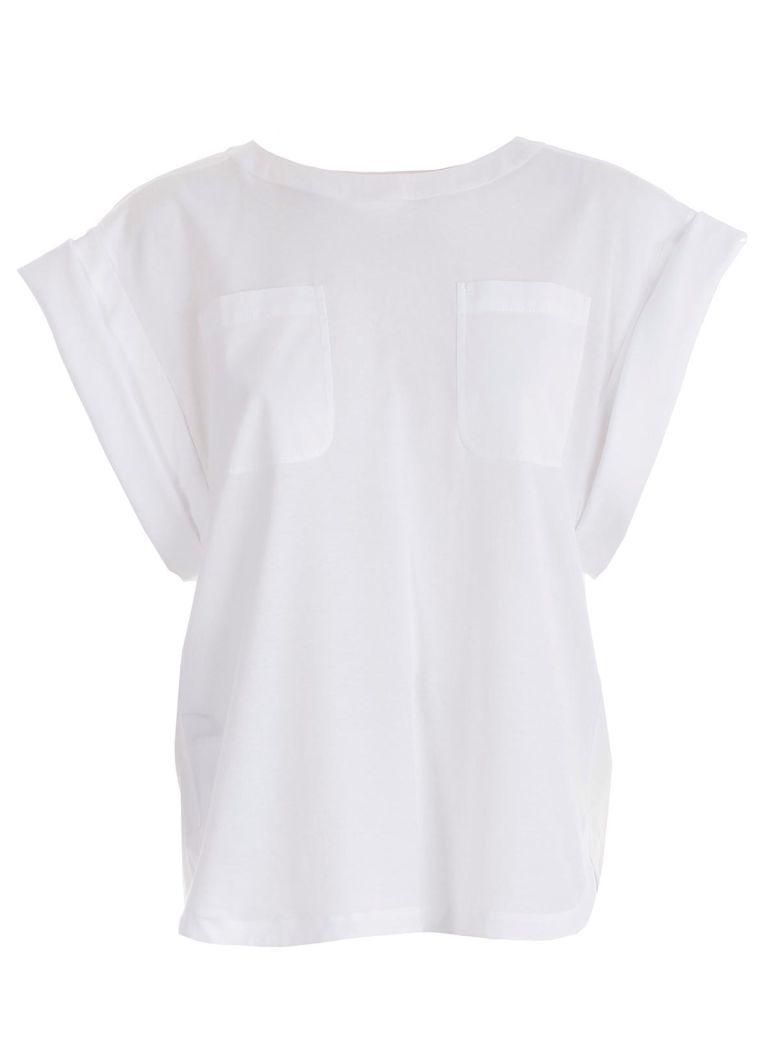 Alberta Ferretti Oversized Top - White