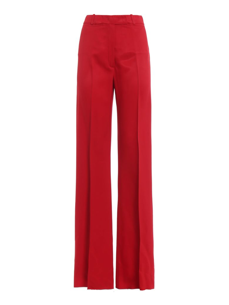Golden Goose Wide Leg Tailored Trousers - Red