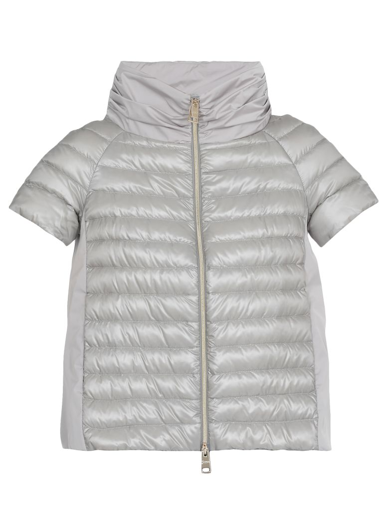 Herno Quilted Down Jacket - Silver
