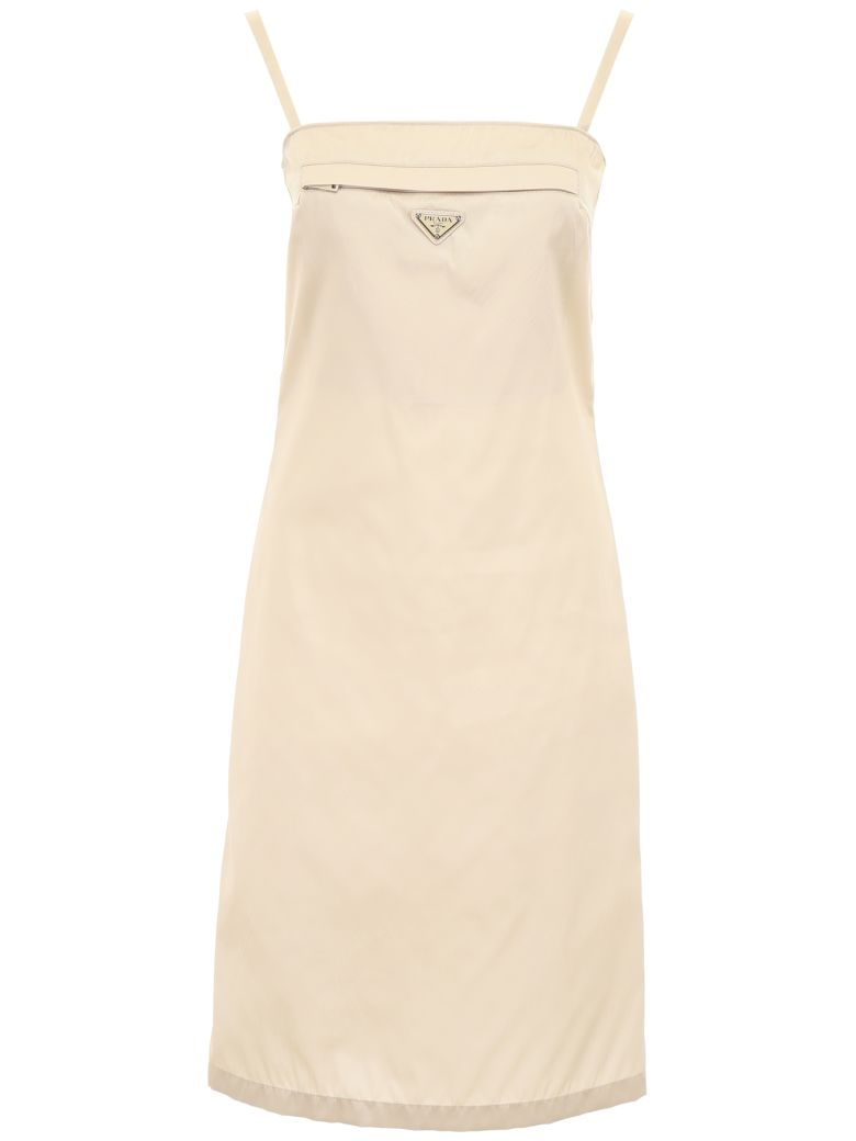 Prada Linea Rossa Nylon Dress - OPALE (Beige)