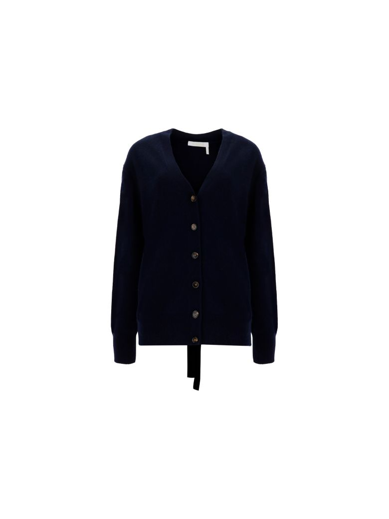 Chloé Cardigan - Iconic navy