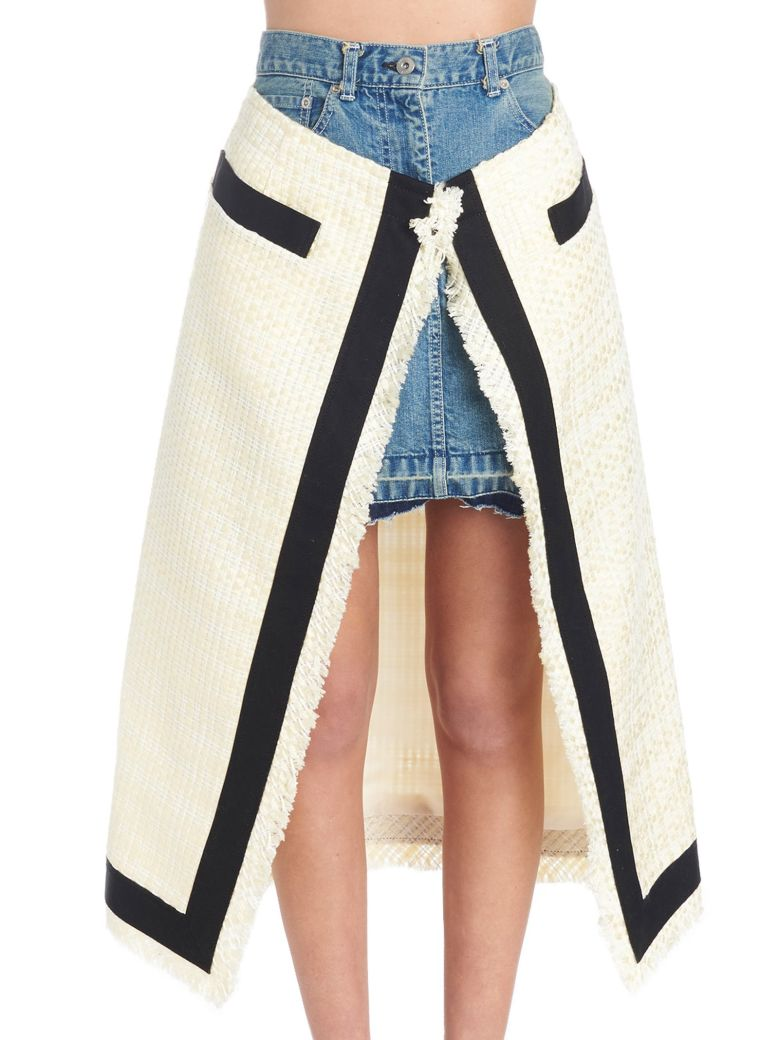 Sacai Skirt - Multicolor