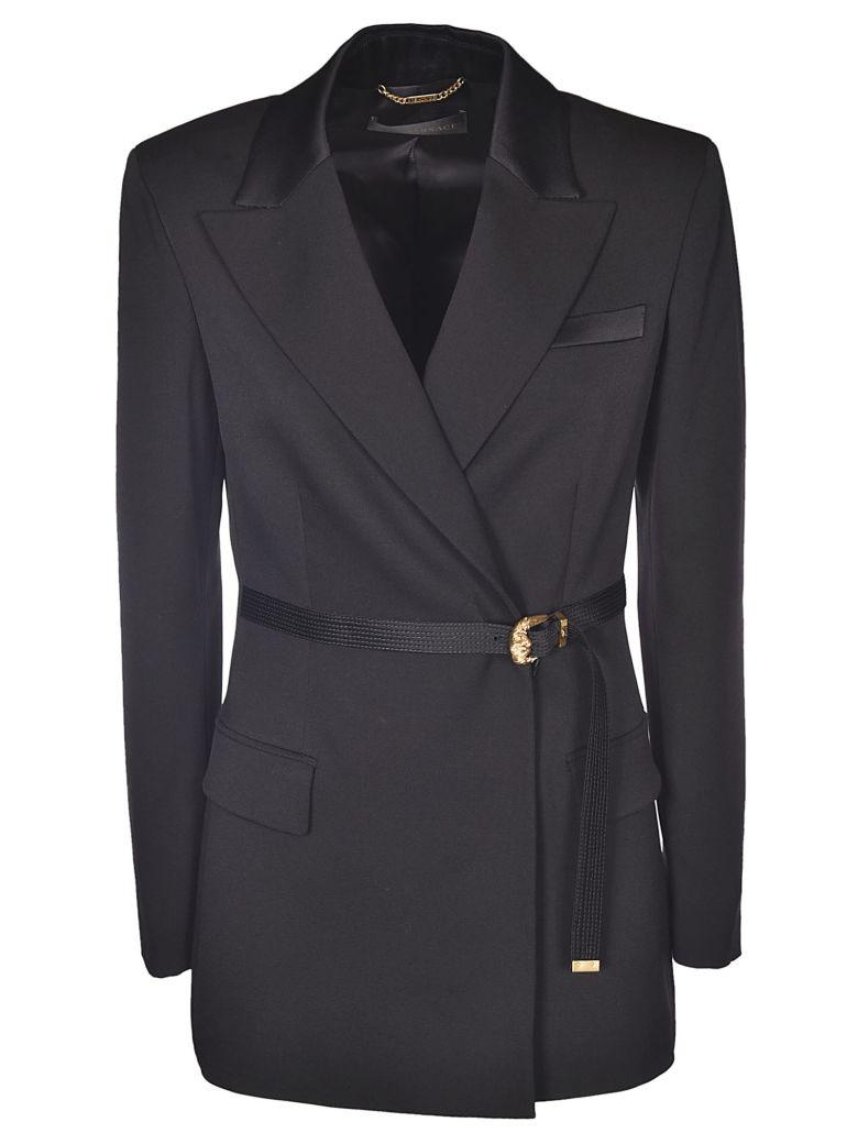 Versace Belted Blazer