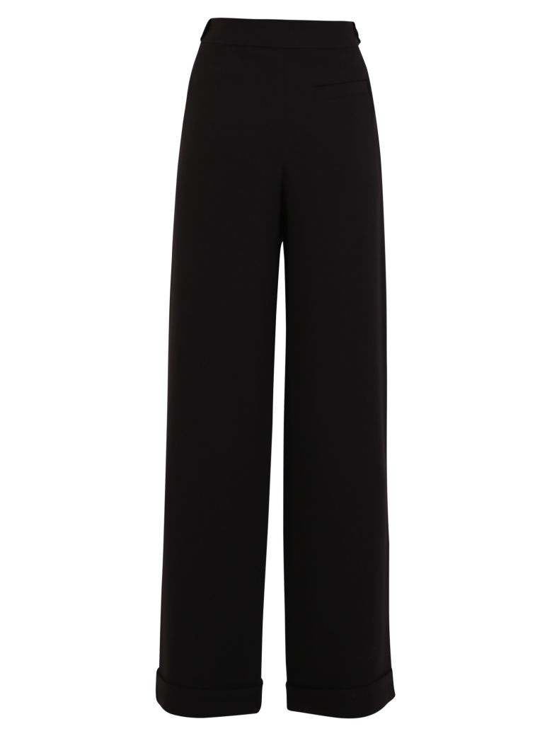McQ Alexander McQueen Wide Leg Trousers - Black