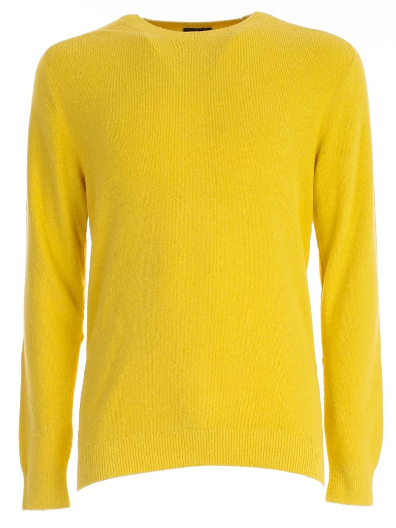 Drumohr Crew Neck Sweater - Yellow