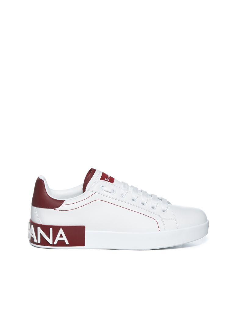 Dolce & Gabbana Sneakers - Bianco rosso