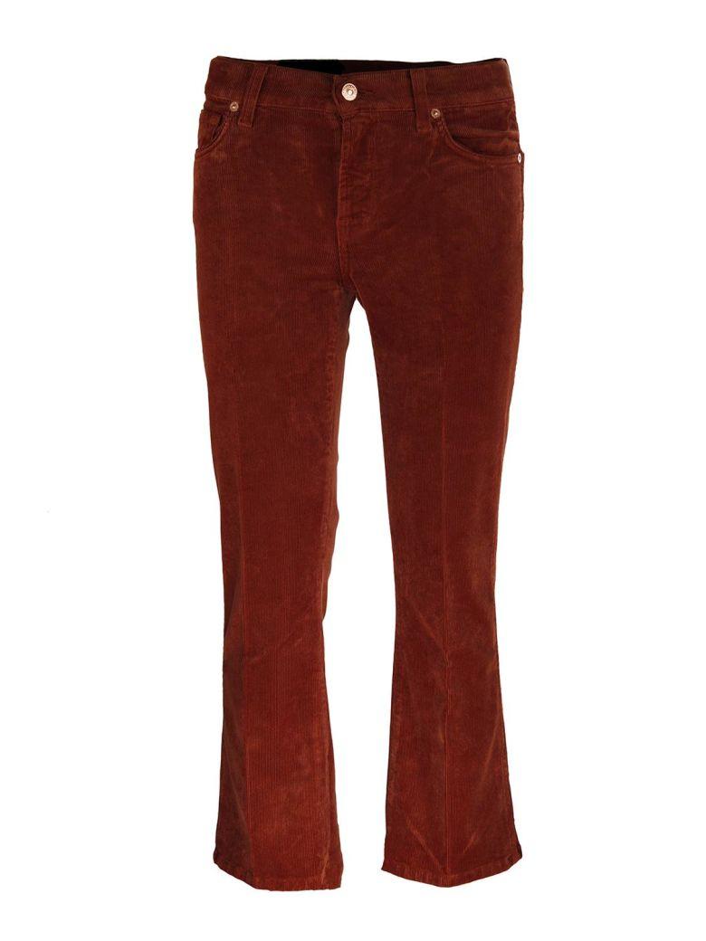 Seven London Seven Cropped boot trousers - Marrone