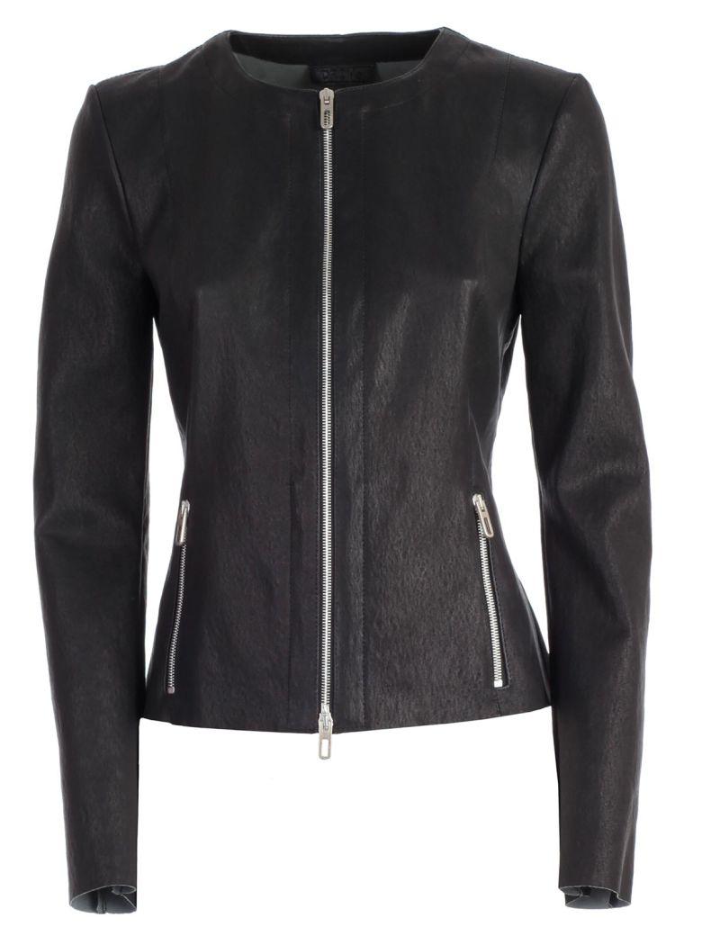 DROMe Cropped Jacket - Black