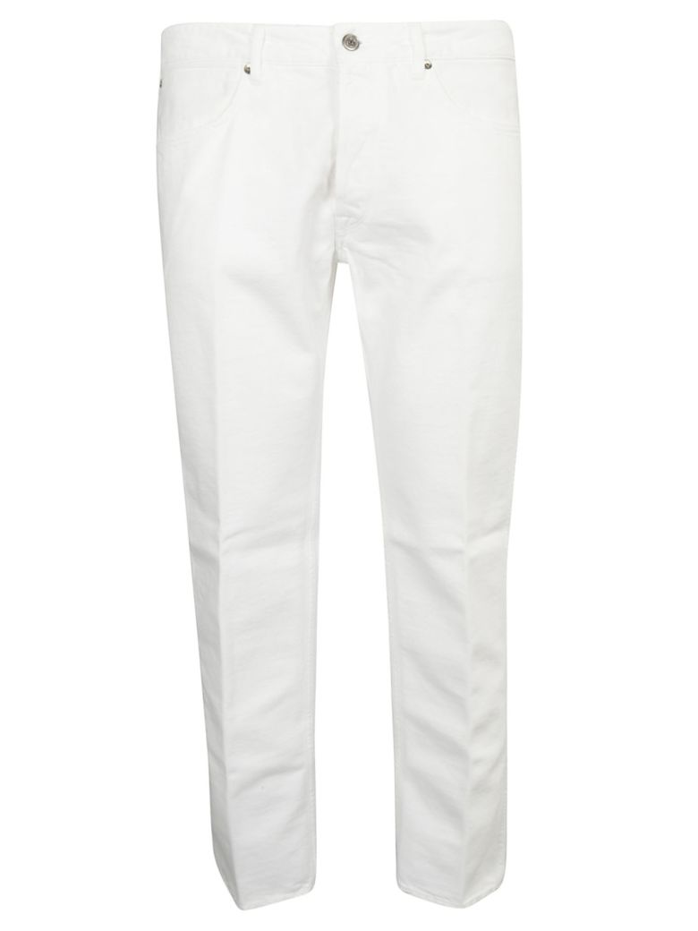 Golden Goose Straight Leg Jeans - White Destroyed