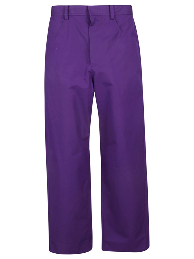 Sofie d'Hoore High-waisted Trousers - Purple
