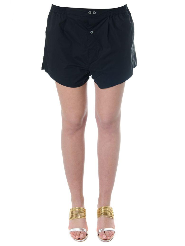 Faith Connexion Black Cotton Shorts - Black