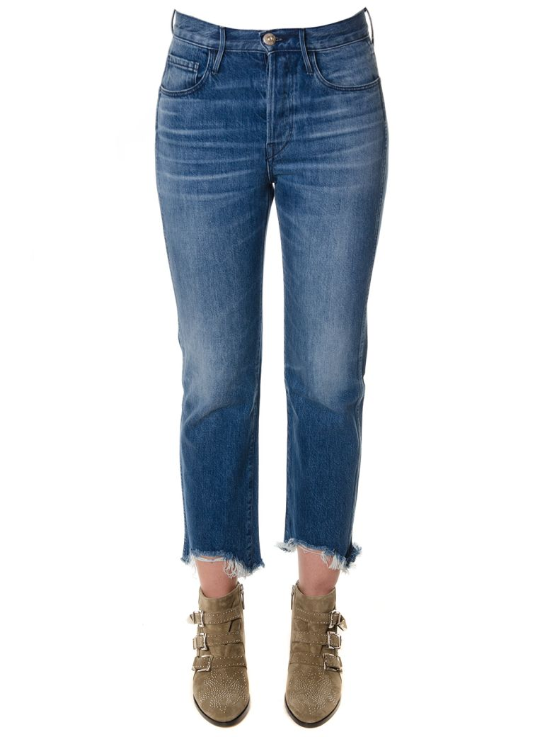 3x1 Denim Cropped Jeans - Denim