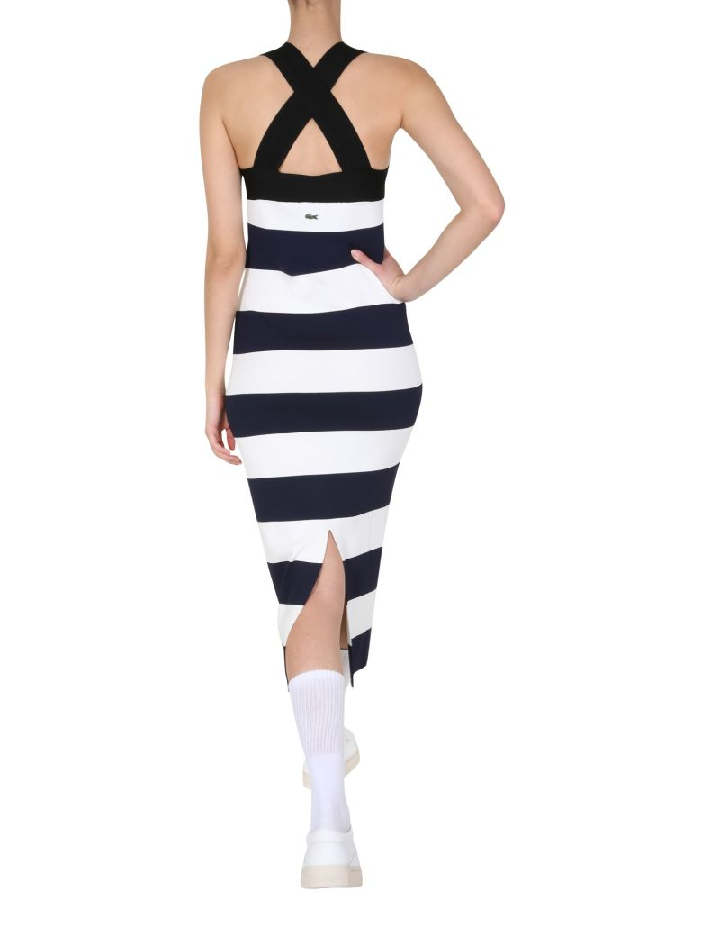 Lacoste Long Dress - BLU
