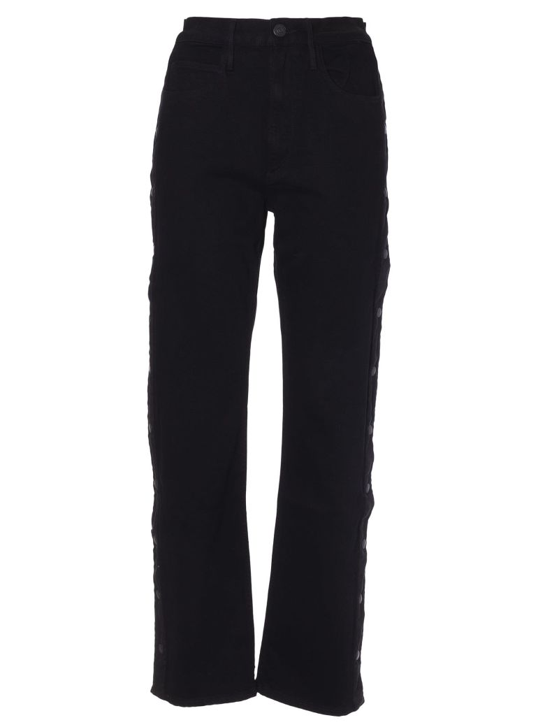 3x1 High Waisted Flared Jeans - Dark noir
