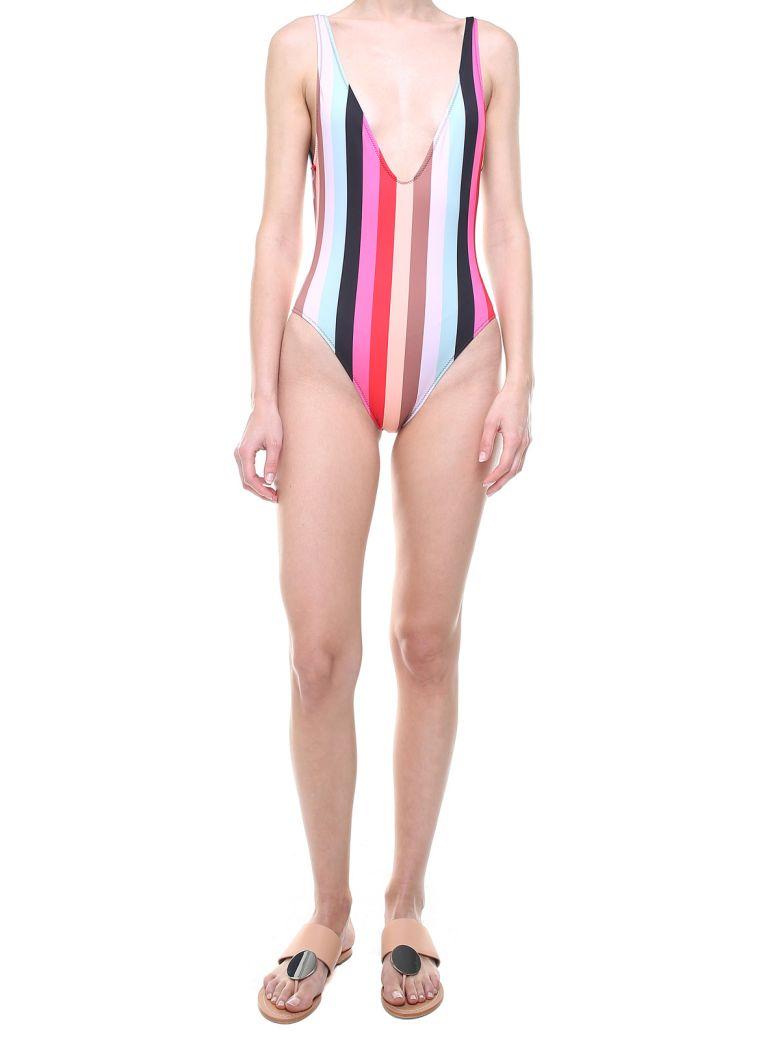 Solid & Striped The Michelle Striped Swimsuit - Multicolor
