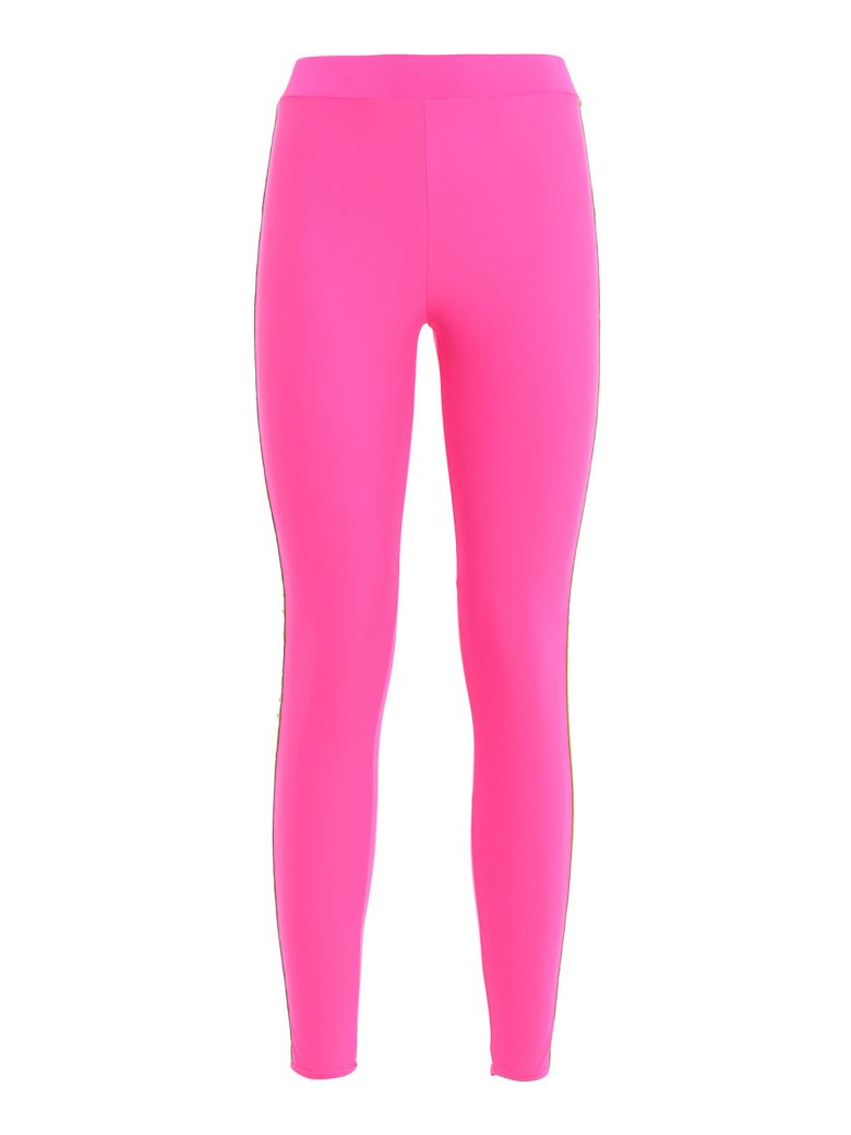 GCDS Embroidered Logo Leggings - Pink