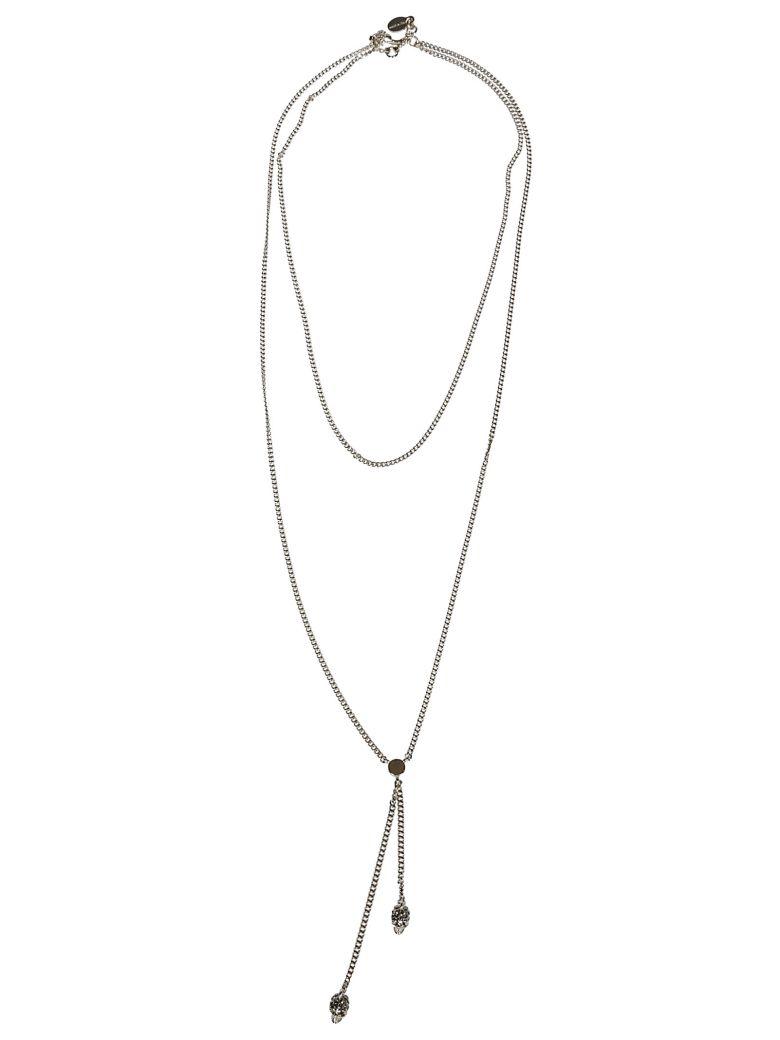 Alexander McQueen Skull Necklace - Gold