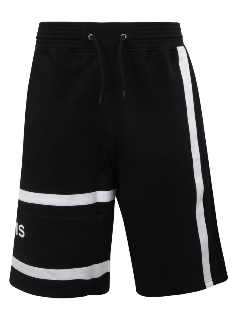 Givenchy Woven Logo Shorts - Black/white