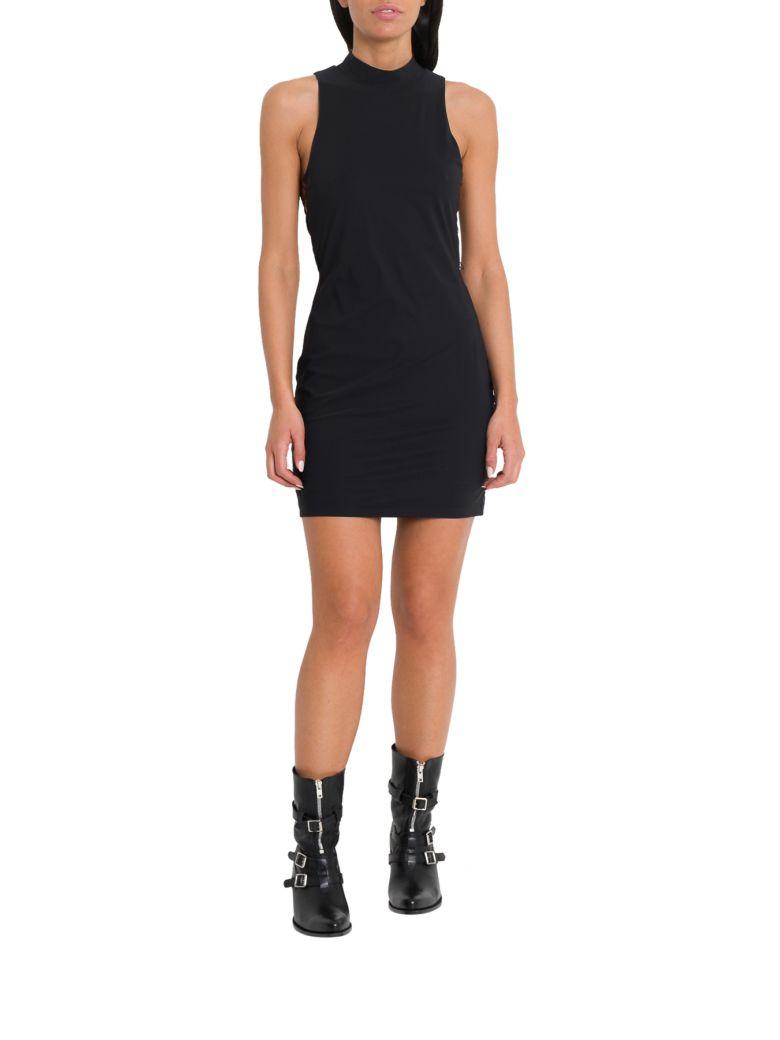 T by Alexander Wang Lace-up Mini Dress - Black