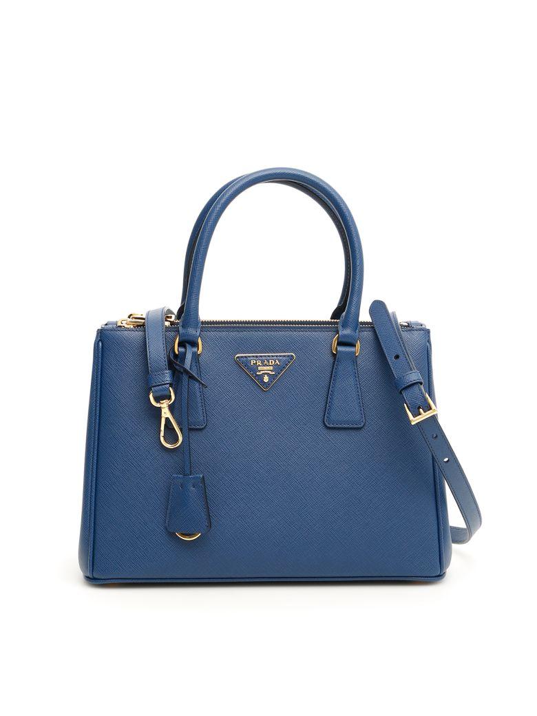 Prada Saffiano Lux Galleria Bag - BLUETTE (Blue)