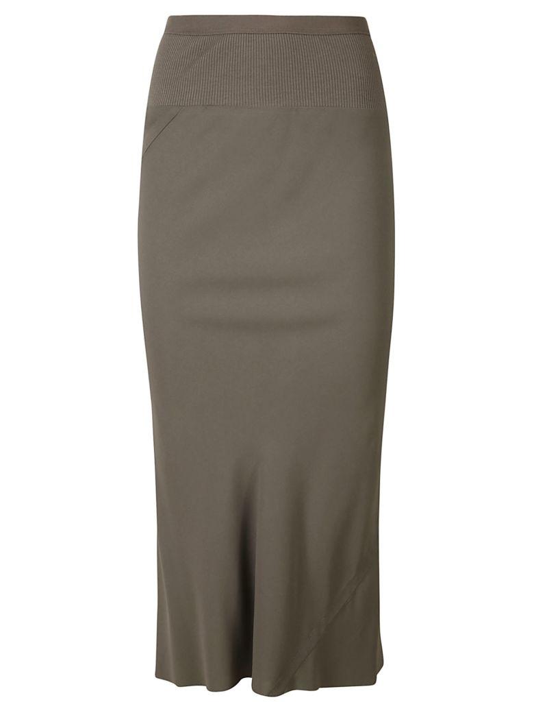 Rick Owens Knee Length Skirt - Dust