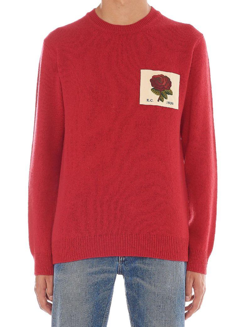 Kent & Curwen 'portophin' Sweater - Red