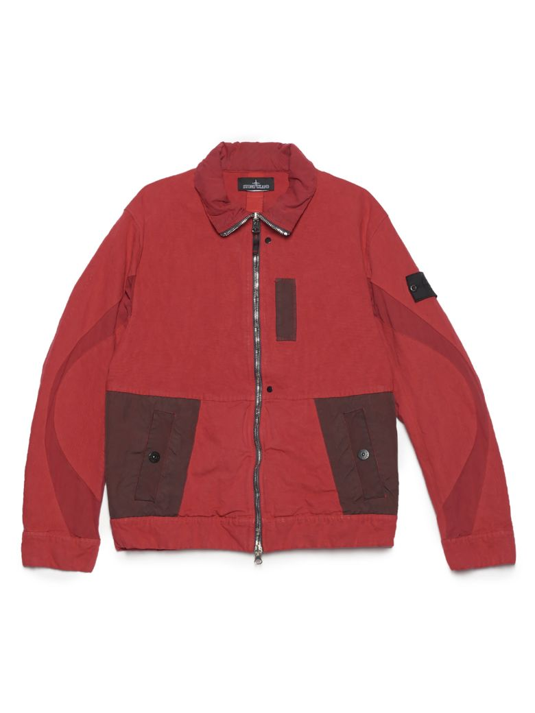 Stone Island Shadow Project Jacket - Red