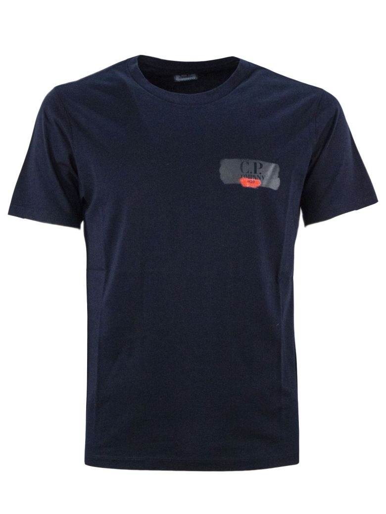 C.P. Company Blue Cotton T-shirt - Blu