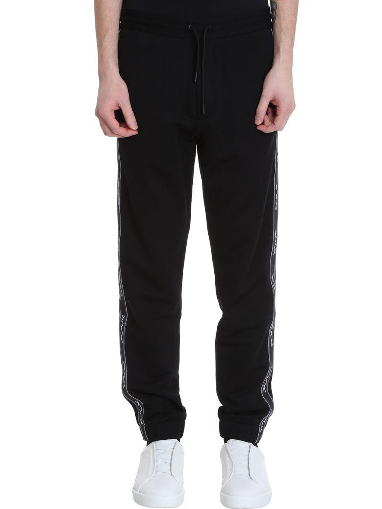 Ermenegildo Zegna Black Cotton Pants - black