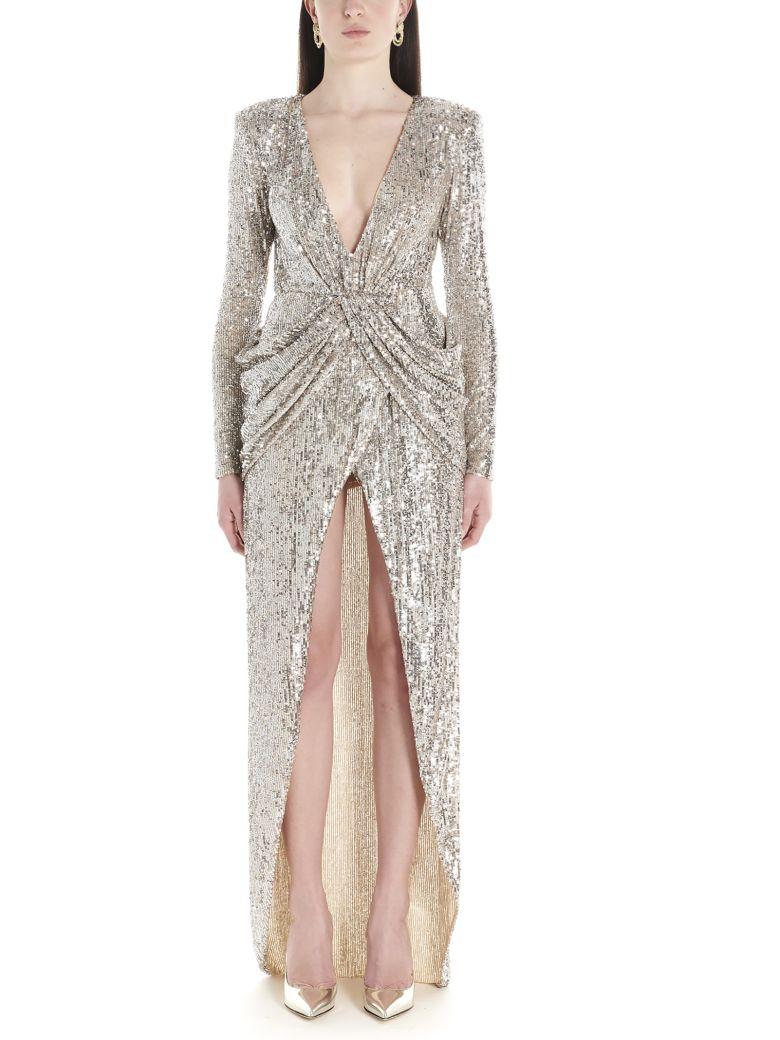Nervi 'ada' Dress - Silver