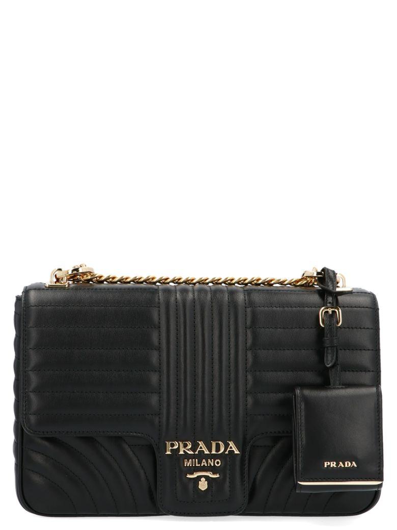 Prada 'diagramme' Bag - Black