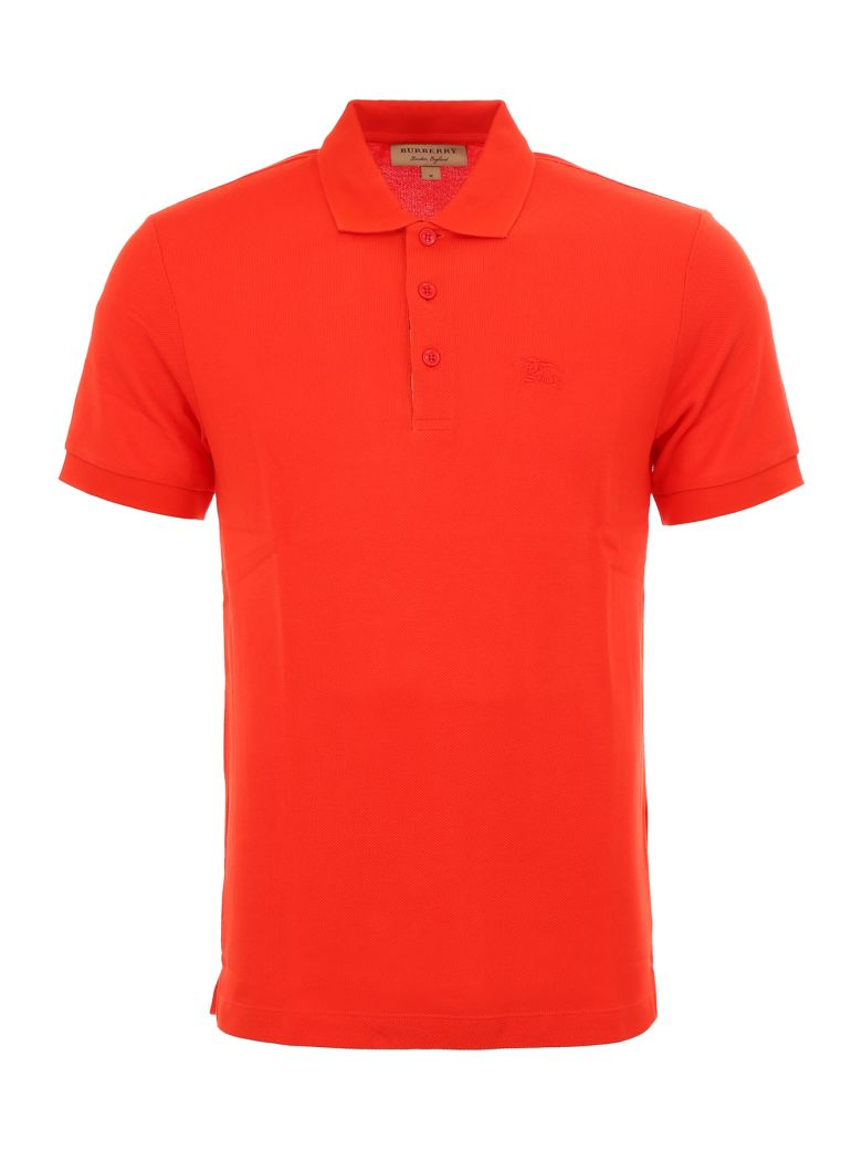 Burberry Hartford Polo Shirt - BRIGHT RED (Red)