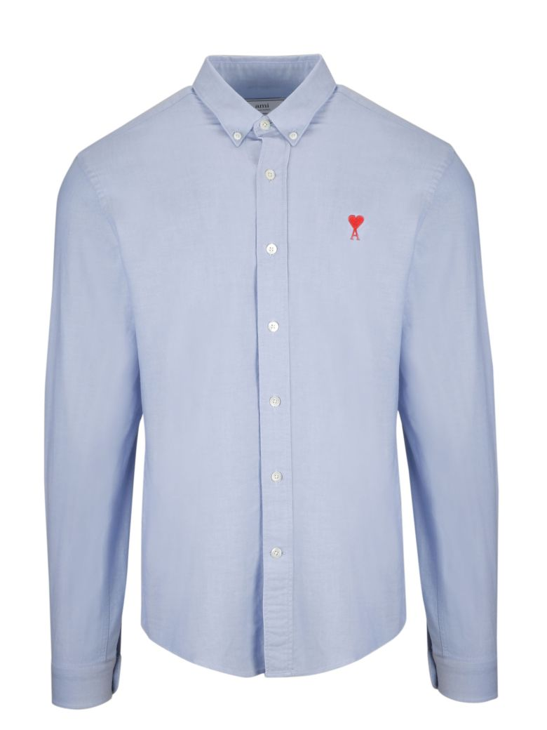 Ami Alexandre Mattiussi Embroidered Shirt